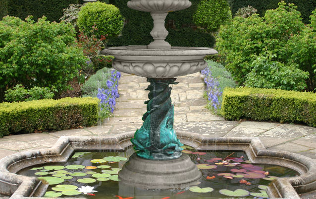 BRONZE/STONE FOUNTAINS